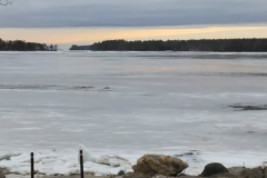 Winter ice will yield to melting as the sun warms the bay.