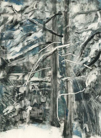 brooks_robin_winter woods monotype