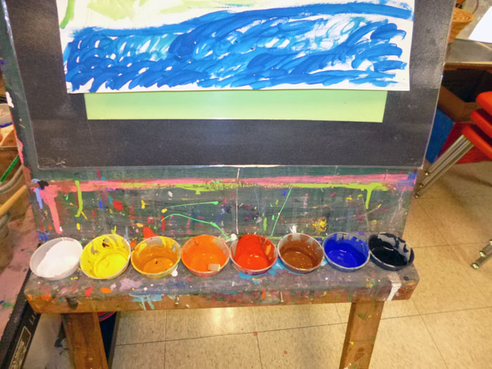Painting with children–How to create opportunities (and not messes)