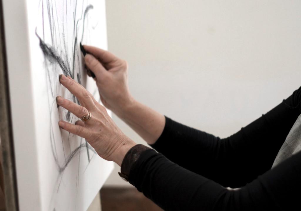 Robin Brooks sketching